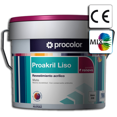 Proakril-Liso-Mate-Mix